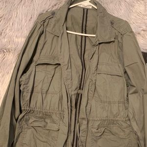 Maurice's Olive Colored Lightweight Jacket